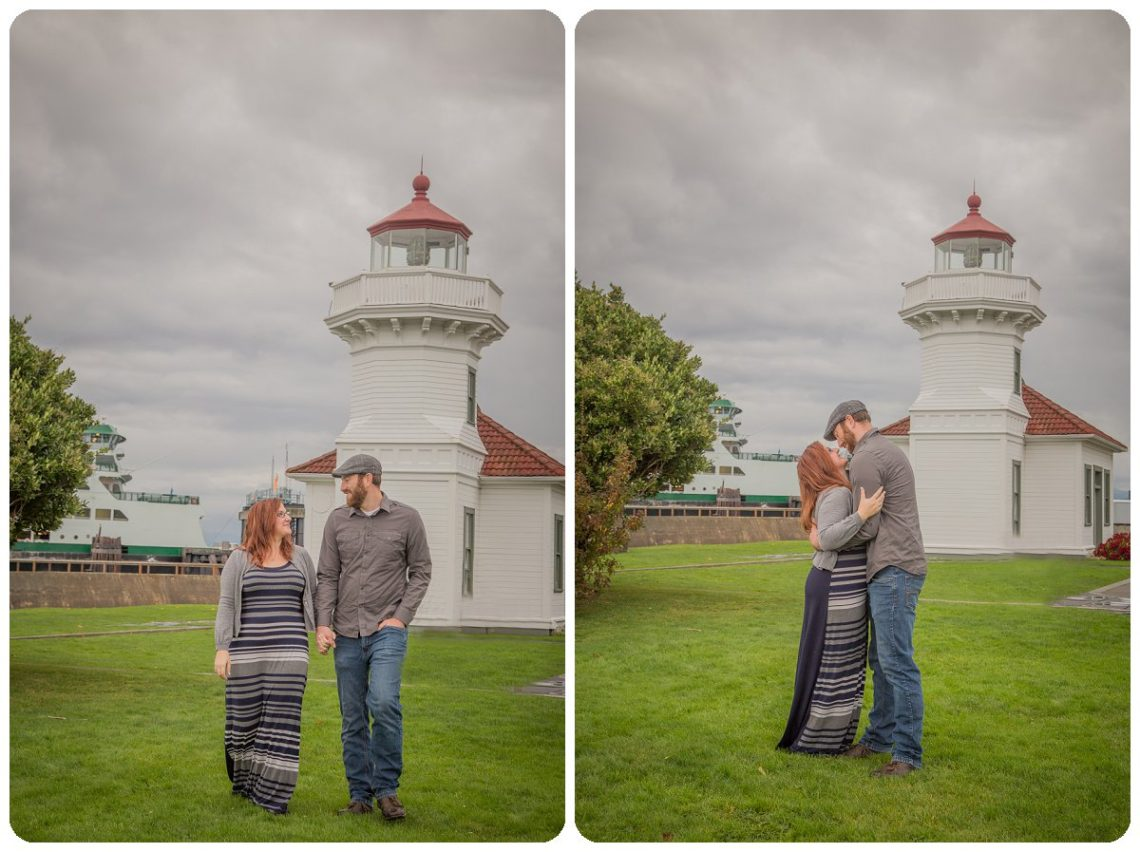 2017 02 06 0008 Sailing our love through blue skys | Mukilteo Lighthouse Engagement Session