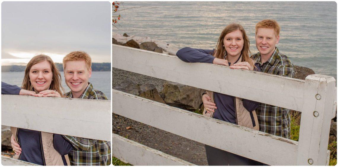 Sarah Brian 5 Rainy PNW Engagement | Mukilteo Lighthouse park | Mukilteo, WA