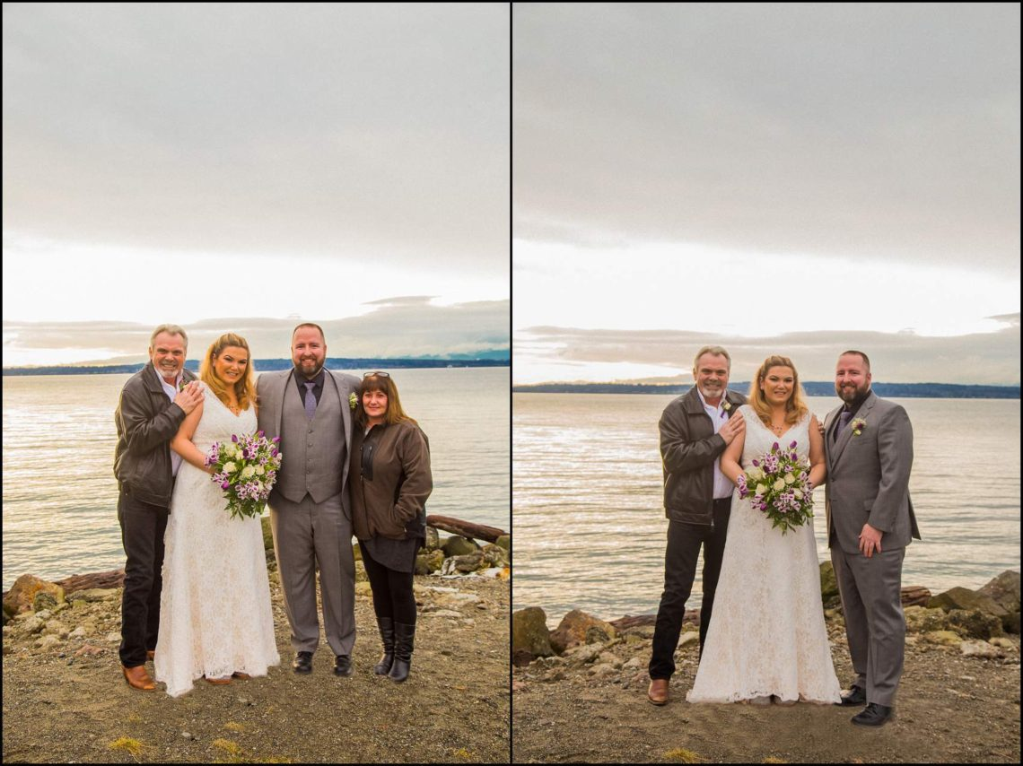 Buck Wedding 29 WATCHING SUNSETS TOGETHER |  BEACH ELOPEMENT WEDDING EDMONDS, WA