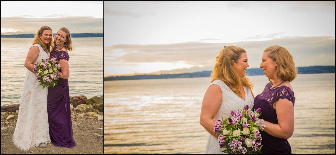 Buck Wedding 43 WATCHING SUNSETS TOGETHER |  BEACH ELOPEMENT WEDDING EDMONDS, WA