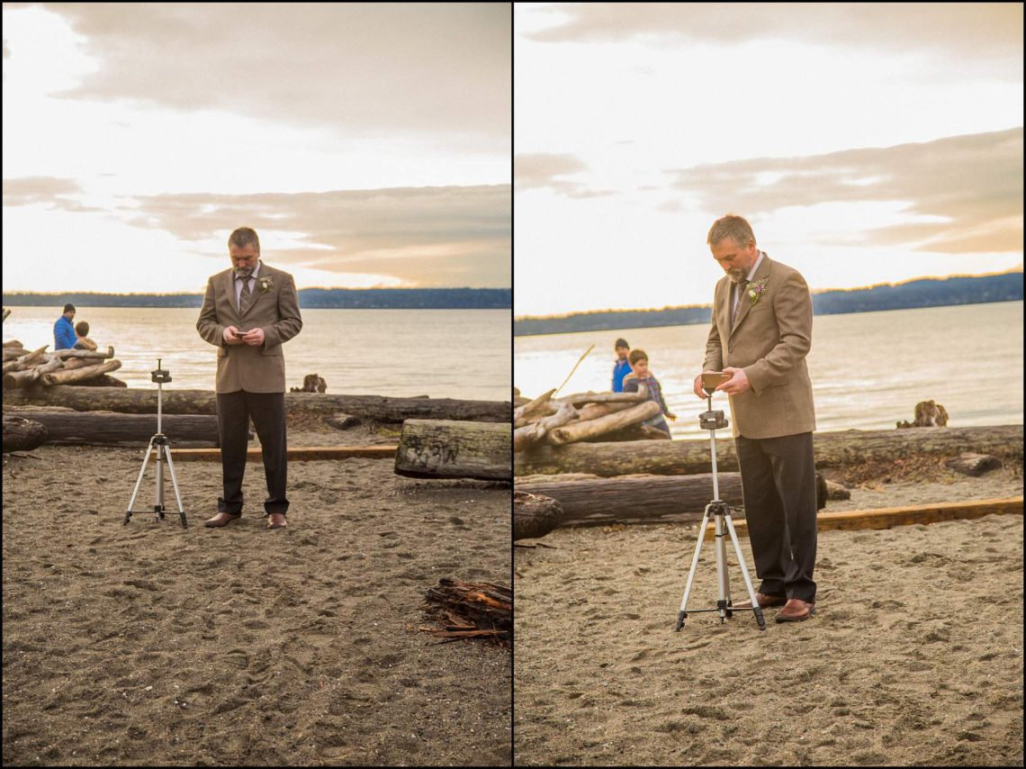 Buck Wedding 78 WATCHING SUNSETS TOGETHER |  BEACH ELOPEMENT WEDDING EDMONDS, WA