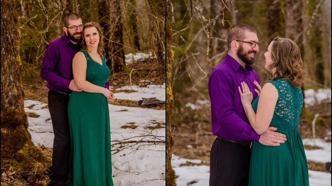 I LOVE YOU I KNOW | MONEY CREEK ENGAGEMENT SESSION | SKYKOMISH, WA