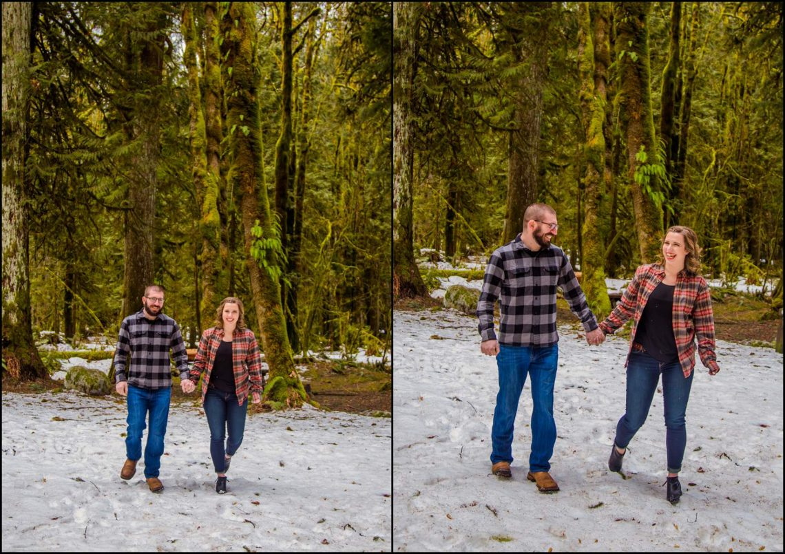 Lauren Hovig 22 I LOVE YOU I KNOW | MONEY CREEK ENGAGEMENT SESSION | SKYKOMISH, WA