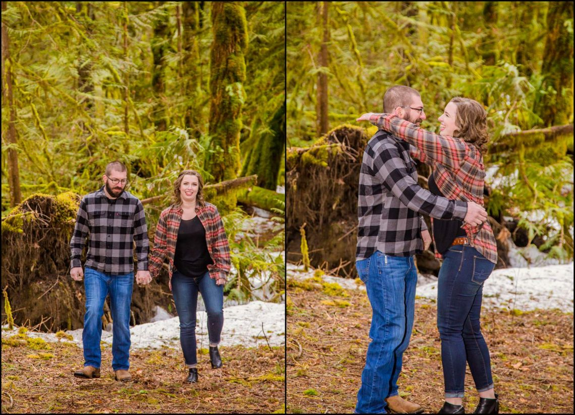 Lauren Hovig 35 I LOVE YOU I KNOW | MONEY CREEK ENGAGEMENT SESSION | SKYKOMISH, WA