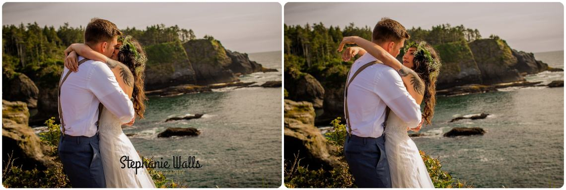 belfour 189 INTIMATE CLIFFSIDE ELOPEMENT | CAPE FLATTERY NEAH BAY | STEPHANIE WALLS PHOTOGRAPHY