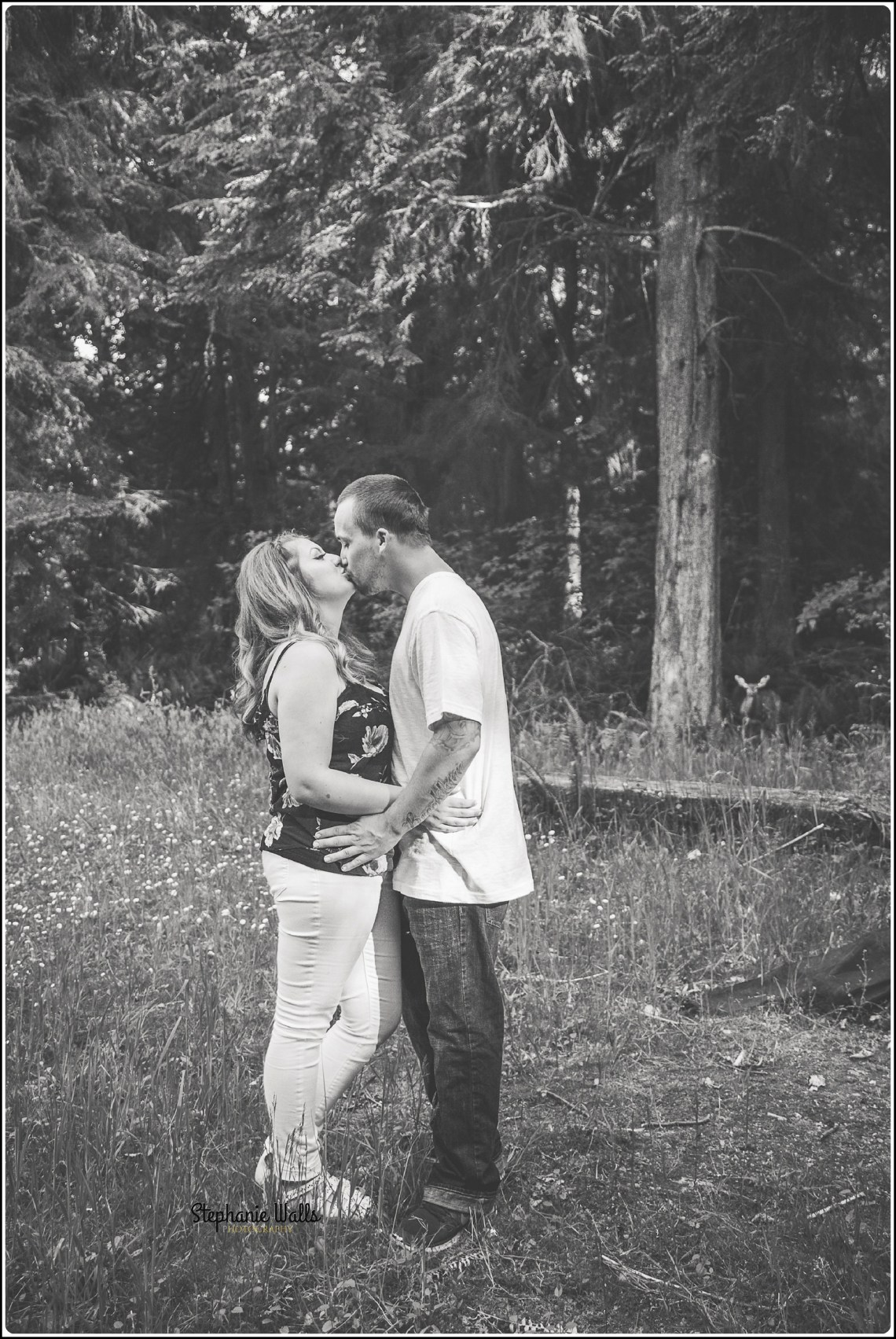 marissa dustin008 Point Defiance Park Engagement with Marissa and Dustin