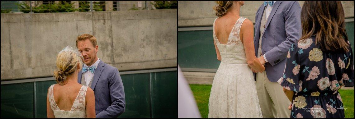 Hall Elopement070 Candace & Matthews Sweet Everett Court House Wedding Ceremony | Everett, Wa