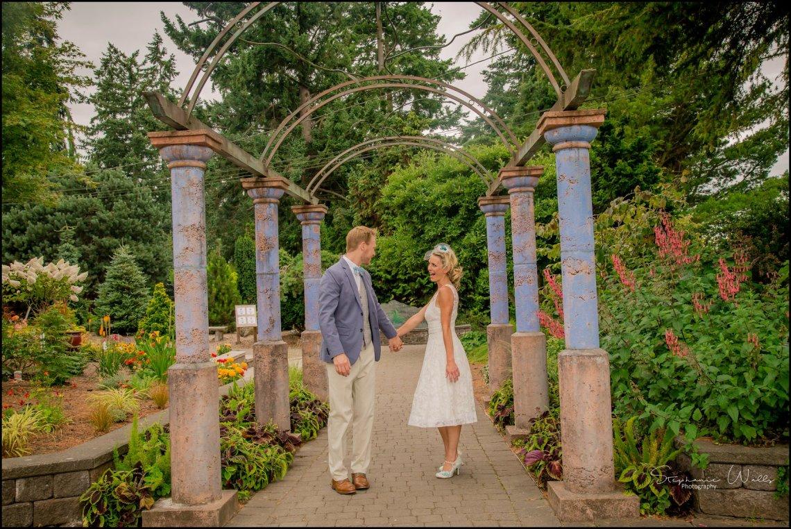 Hall Elopement255 Candace & Matthews Sweet Everett Court House Wedding Ceremony | Everett, Wa