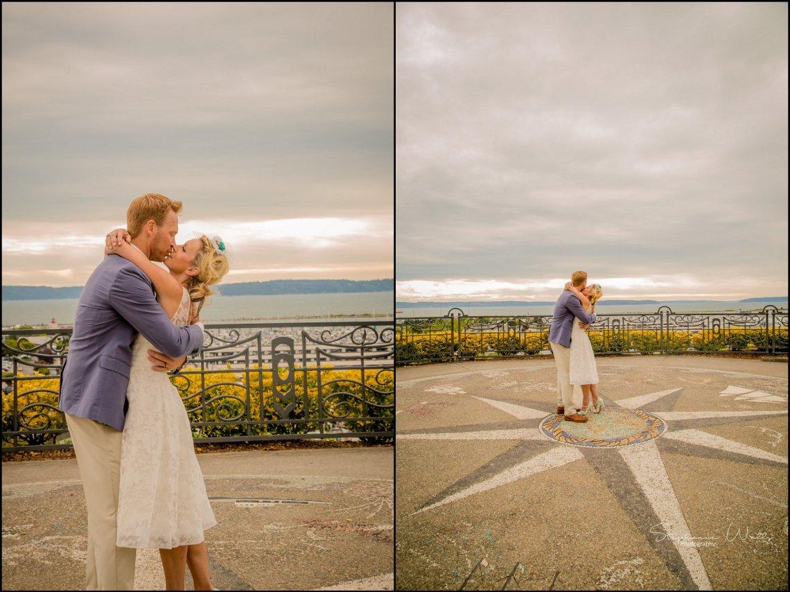 Hall Elopement303 Candace & Matthews Sweet Everett Court House Wedding Ceremony | Everett, Wa