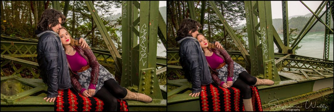 Foss 006 Rainy Engagement Session | Deception Pass Park Engagement Session | Anacortes, Wa Wedding Photographer