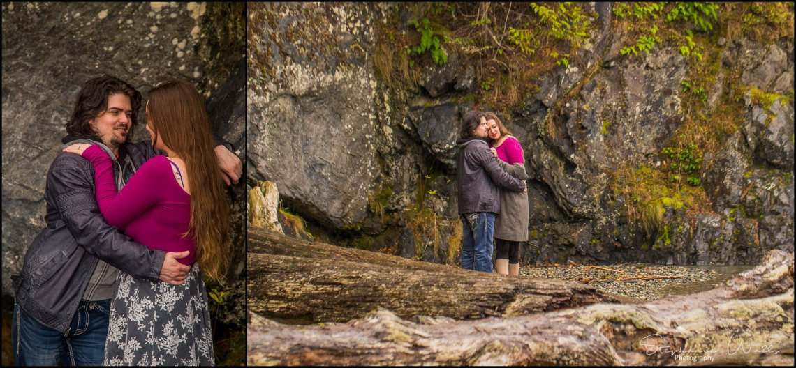 Foss 030 Rainy Engagement Session | Deception Pass Park Engagement Session | Anacortes, Wa Wedding Photographer
