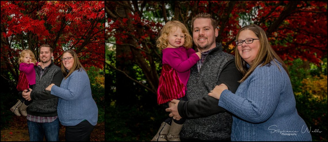 Gunderman Family 036 Rainy Day Family Session | Evergreen Arboretum & Gardens | Everett Family Portrait Photographer
