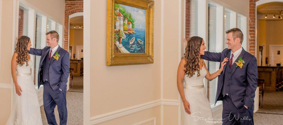 1st look Bridals 047 2 KK & Zack | Hollywood Schoolhouse Wedding | Woodinville, Wa Wedding Photographer