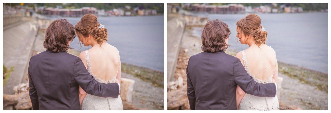 Bride Groom 076 Sky full of Colors | Saltys on Alki, Seattle   Our Lady Guadalupe | Stephanie Walls Seattle Wedding Photographer