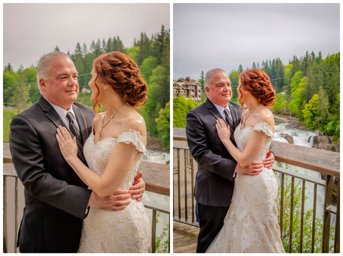 Portraits Ceremony 036 Romantic Elopement | Salish Lodge & Spa, Snoqualmie | Stephanie Walls Photography Weddings