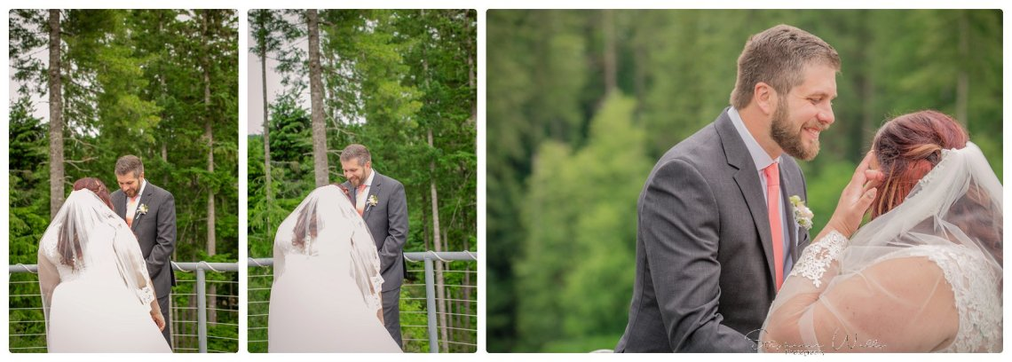 1st look Bridals 023 Gold Mountain Golf Course Wedding With Jenn and Rob