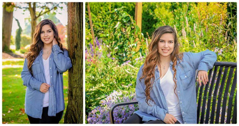 %name Elizabeth Co2019 | Evergreen Arboretum & Gardens | Mariner High School Senior Photographer