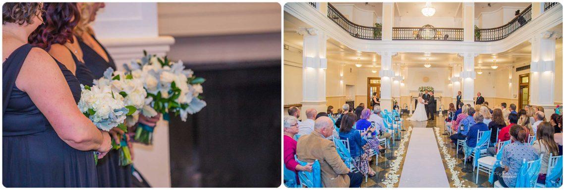 Ceremony 123 Black & Teal | Monte Cristo Ballroom Wedding | Everett Wedding Photographer
