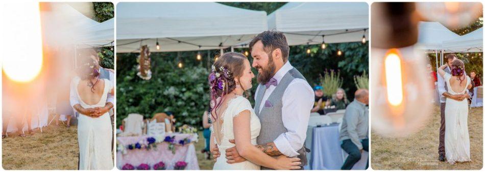 %name Camano Island Backyard wedding with Sarah and Casey