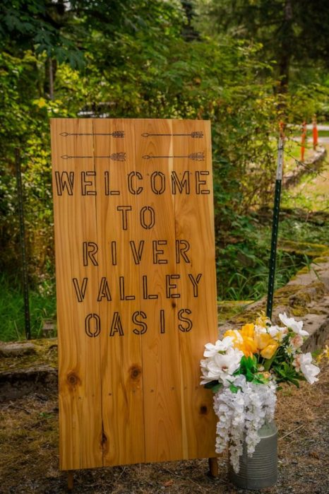 %name River Valley Oasis Wedding of Gina and Will