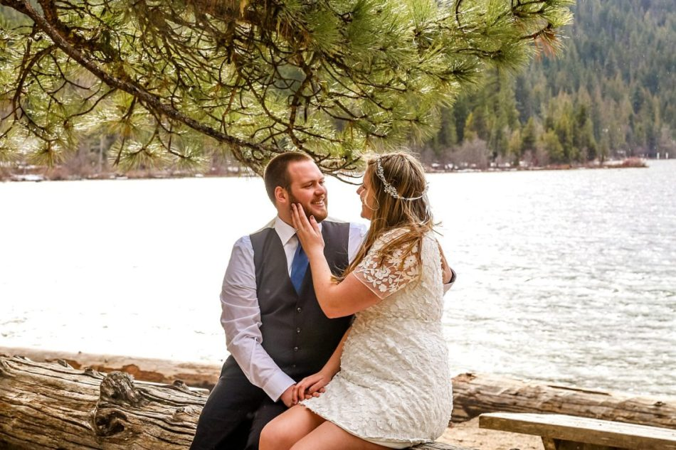 %name Lake Wenatchee Engagement with Claire and Jeff.