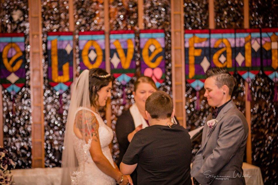 Stephanie Walls Photography 0197 950x634 Wayside United Church of Christ Wedding of Melissa and Melba