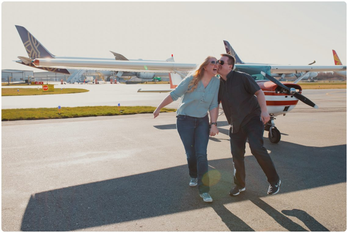 Stephanie Walls Photography 1015 scaled Paine Field  Edmonds Beach Engagement | Laura and Evan