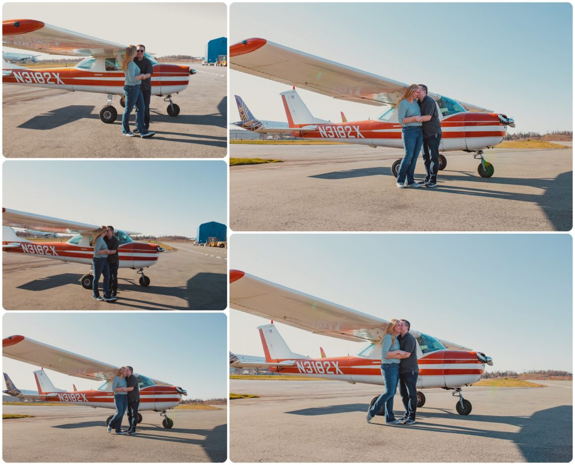 Stephanie Walls Photography 1023 scaled Paine Field  Edmonds Beach Engagement | Laura and Evan