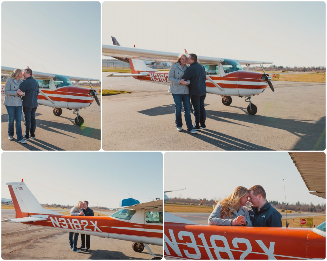 Stephanie Walls Photography 1028 scaled Paine Field  Edmonds Beach Engagement | Laura and Evan