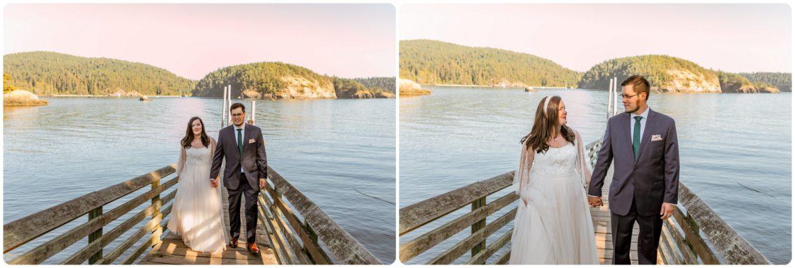 Stephanie Walls Photography 1171 scaled Summer Deception Pass Elopement at Rosario Beach | Jacinda & Trevor