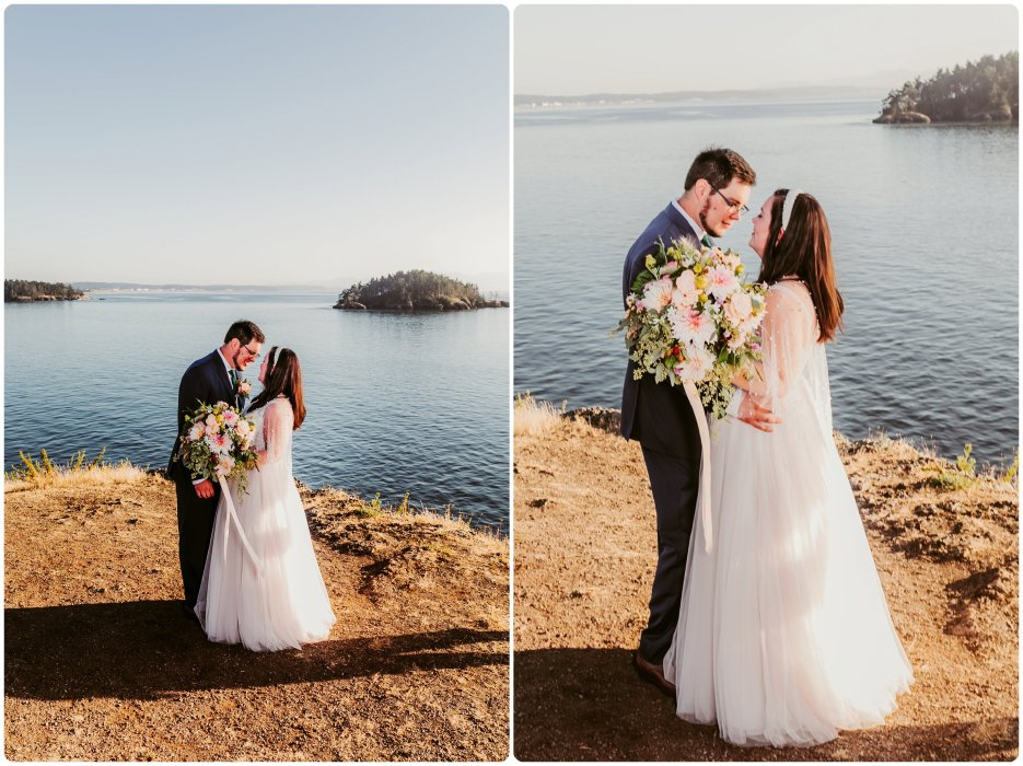 Stephanie Walls Photography 1172 935x700 Summer Deception Pass Elopement at Rosario Beach | Jacinda & Trevor