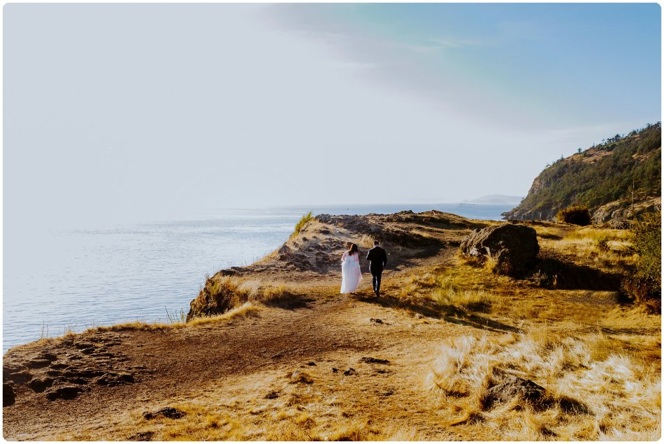 Stephanie Walls Photography 1177 950x636 Summer Deception Pass Elopement at Rosario Beach | Jacinda & Trevor