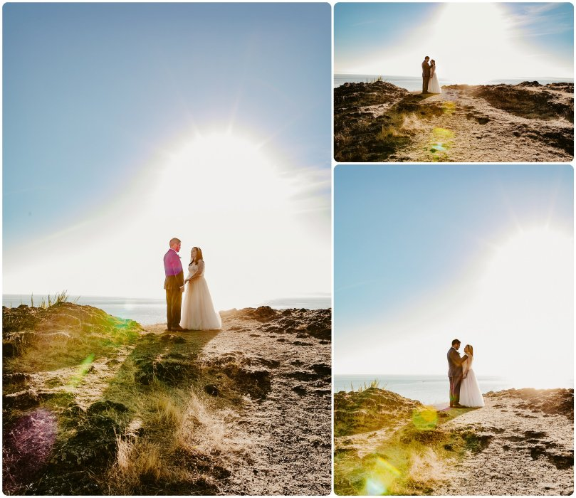 Stephanie Walls Photography 1178 809x700 Summer Deception Pass Elopement at Rosario Beach | Jacinda & Trevor