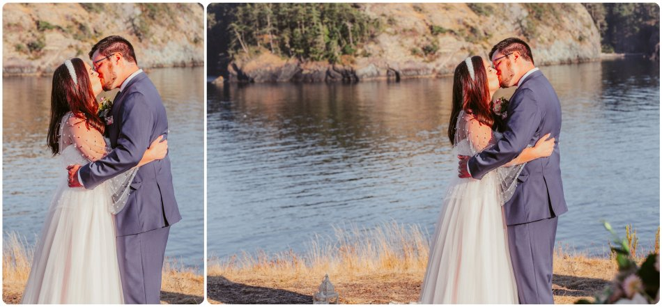 Stephanie Walls Photography 1211 950x441 Summer Deception Pass Elopement at Rosario Beach | Jacinda & Trevor
