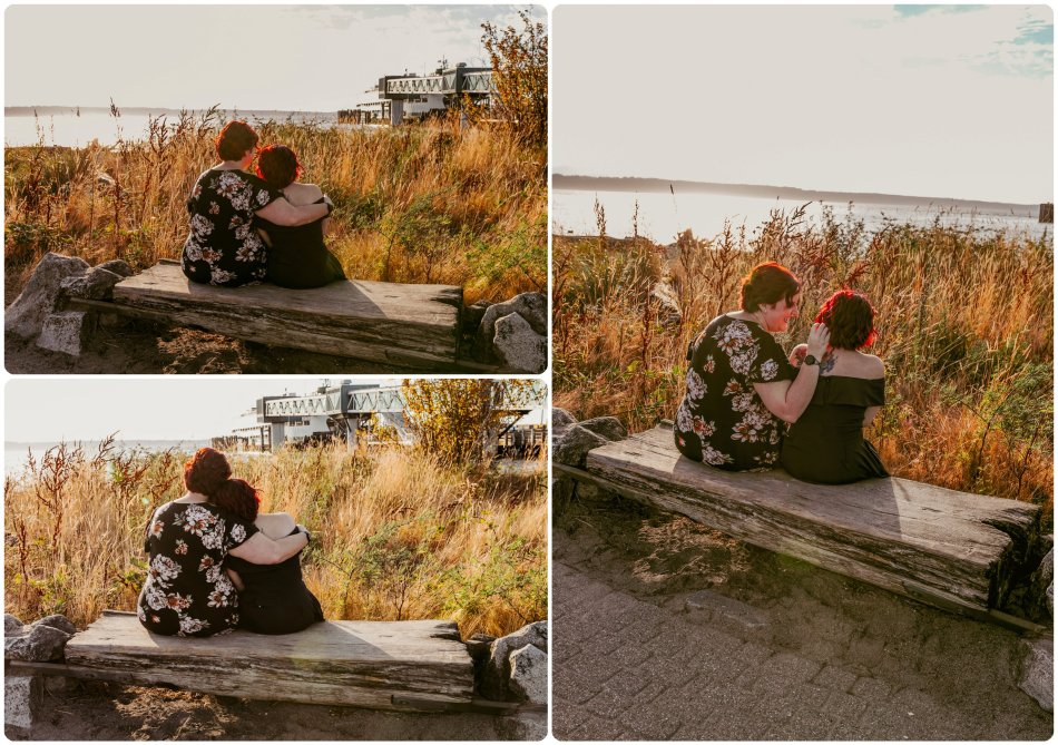 Stephanie Walls Photography 1215 950x669 Edmonds Beach Park Engagement Session with Kristy and Kat