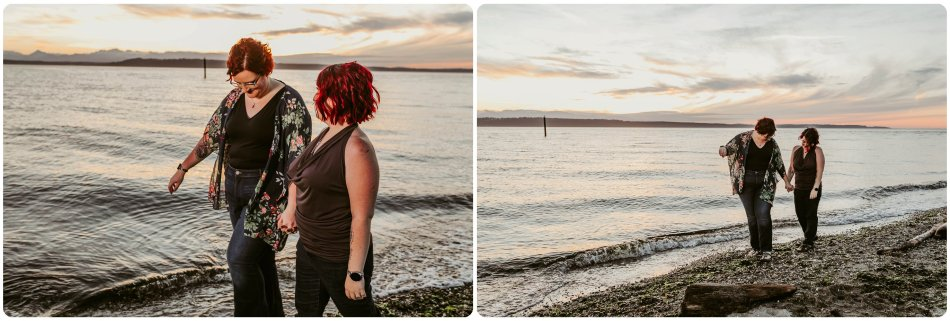 Stephanie Walls Photography 1255 950x321 Edmonds Beach Park Engagement Session with Kristy and Kat