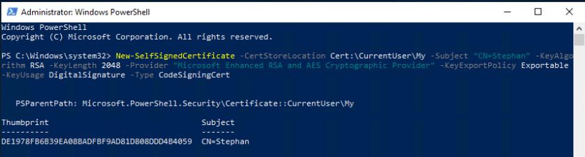 Self_Signed-Certificate