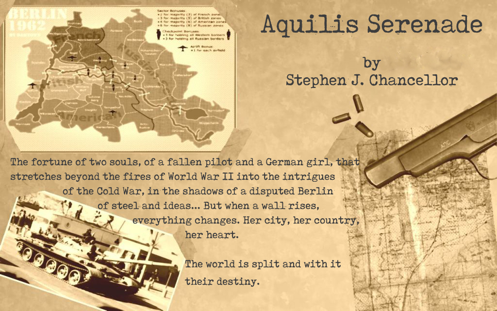Stephen J. Chancellor - Author, Writer, Novelist - Aquilis Serenade