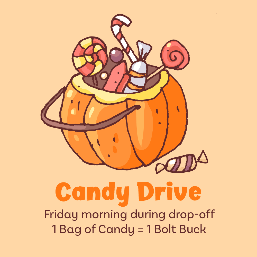 Candy Drive for trunk or treat