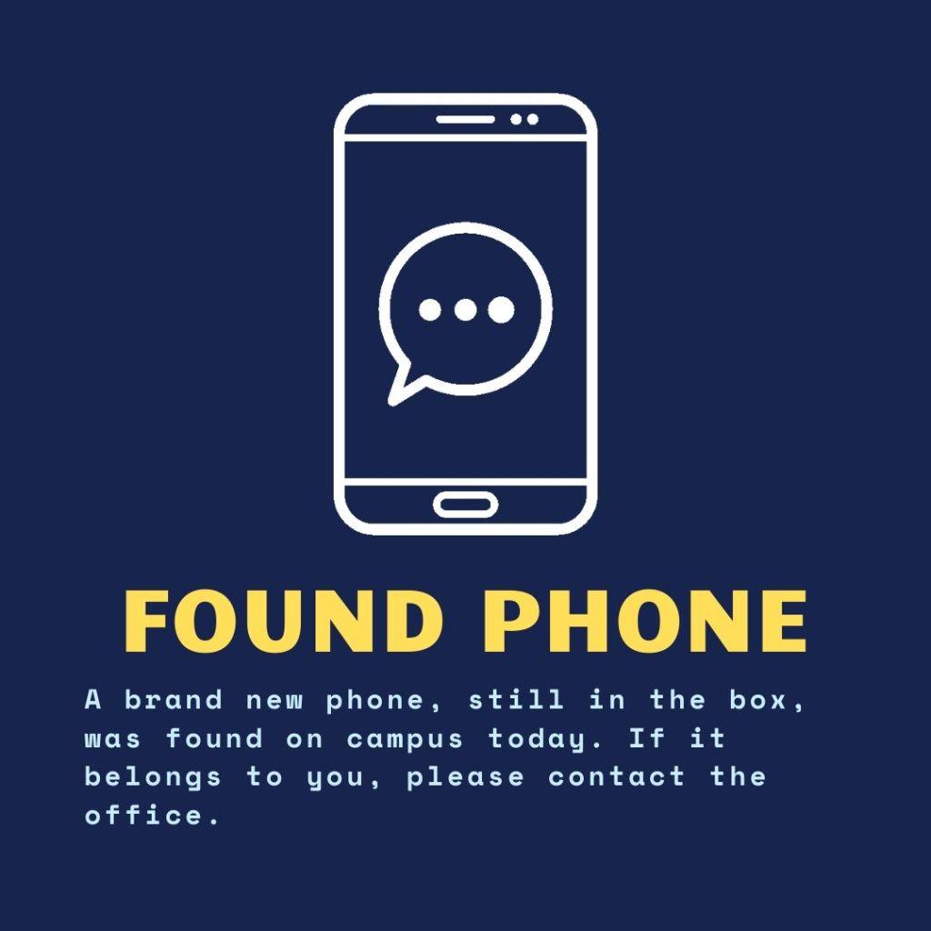 Found Phone
