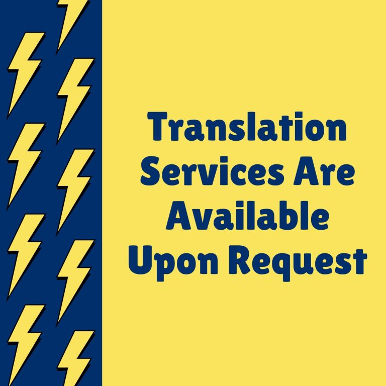 Translation Services Available