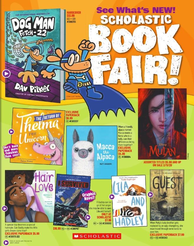 March 2020 Book Fair
