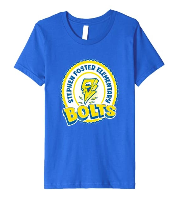 Stephen Foster Elementary Spirit Wear - Royal Blue