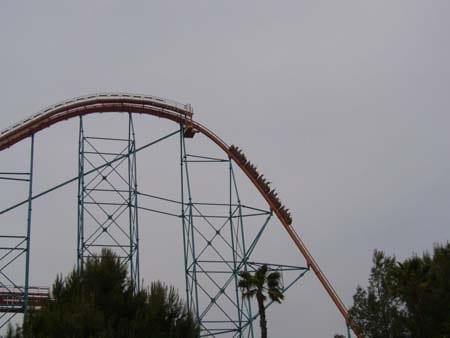 Horror at Six Flags Magic Mountain