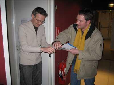 L. Ruquier signe à Jean-Michel Pailherey