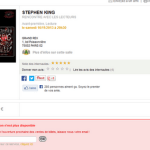 Stephen King au Grand Rex c'est complet