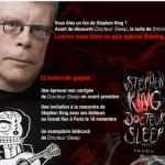 Stephen King le 16 Novembre 2013 à Paris et le 13 novembre 2013