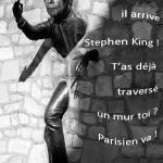 Vos photos montages de la venue de Stephen King à Paris