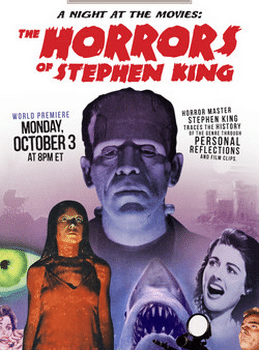 TCM le 30 octobre A night at the movies : The Horrors of Stephen King