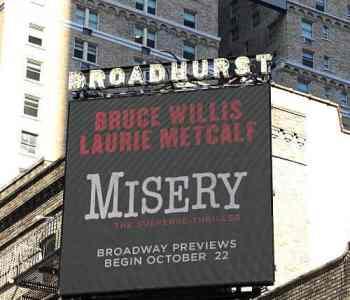 Misery theatre New York